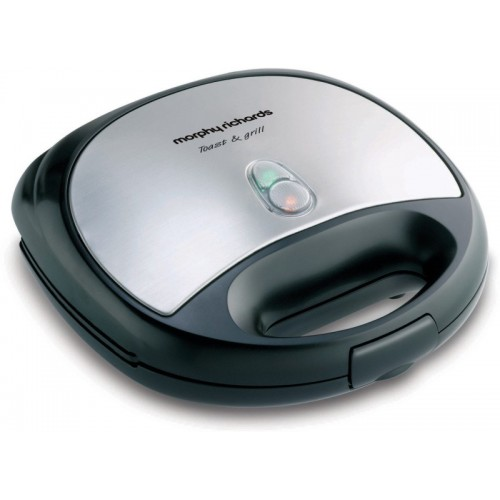 Morphy Richards Toast & Grill SM3006 T&G Grill, Toast(Steel Black)
