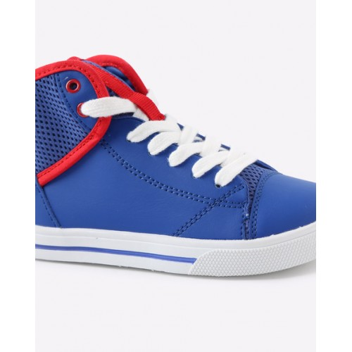 United Colors of Benetton Foundation Blue Sneakers