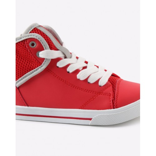 UNITED COLORS OF BENETTON High-Top Lace-Up Sneakers