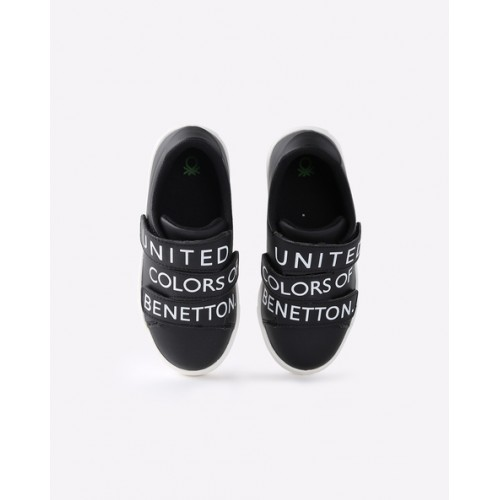 UNITED COLORS OF BENETTON Strappy Sneakers with Velcro Closures