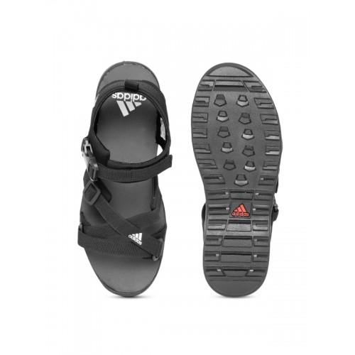 1859373de212 Buy Adidas Men Black Gladi Sports Sandals online
