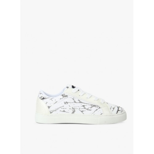 United Colors of Benetton Foundation White Sneakers