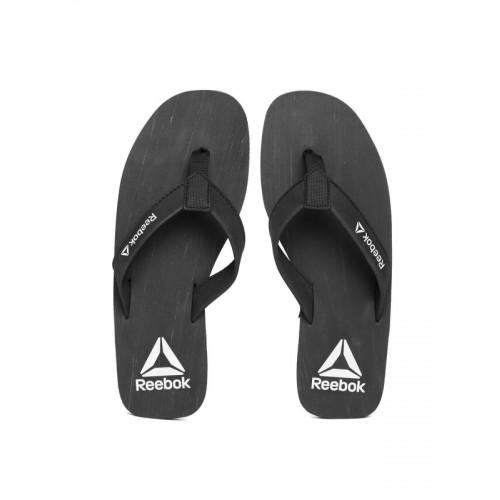 89b5ece8a86c Buy Reebok Men Black Hans Solid Thong Flip-Flops online
