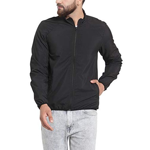 Scott International Black Solid Weather Jacket