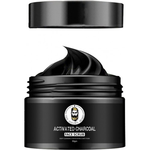 THE GOLDEN BEARD - Activated Charcoal Face Mask - 50GM