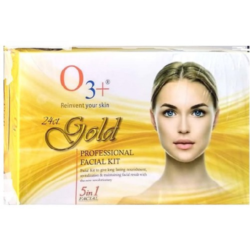 O3 + 24 cart gold professional facial kit