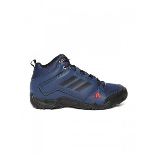 Adidas Men Navy Blue Aztor Hiker Mid II Hiking Shoes