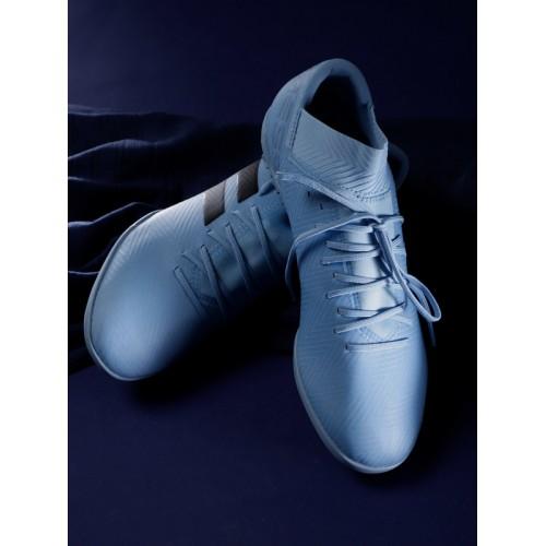 0bc4c87a4f12 ... Adidas Men Blue NEMEZIZ MESSI TANGO 18.3 TF Football Shoes ...