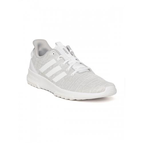 Adidas Men Grey CF Racer TR Patterned Running Shoes