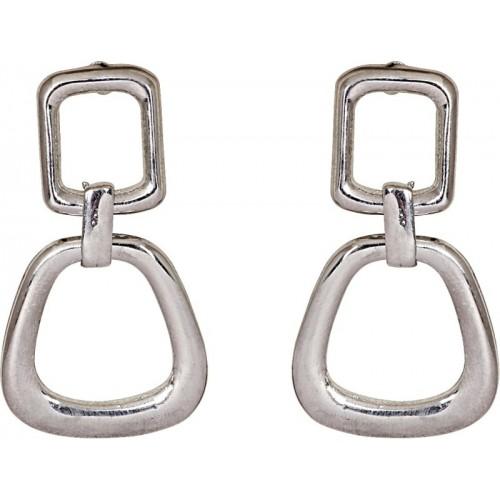 Crunchy Fashion Geometrical Alloy Drop Earring
