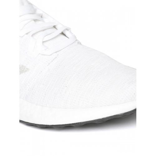 Buy the adidas Pureboost GO Men's WhiteGrey Online in India