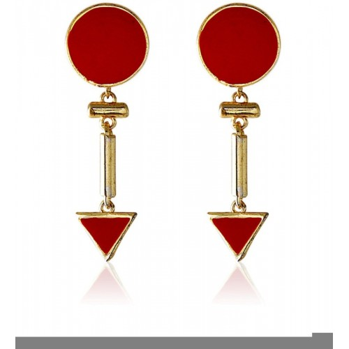 Crunchy Fashion Blooming Praise Decadic Alloy Drop Earring