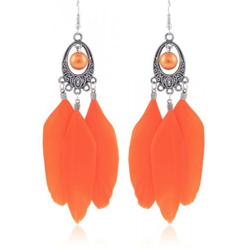 Crunchy Fashion Tribal Alloy Dangle Earring