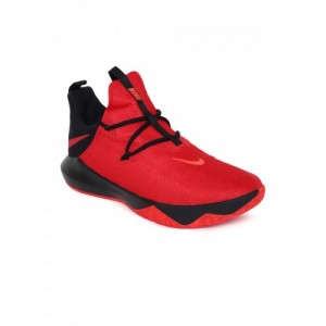 df8d08095a1f Nike Men Red Solid ZOOM SHIFT 2 Basketball Shoes