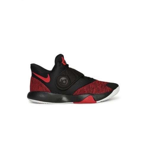 5d15f2fae556 Buy Nike Men Red   Black KD TREY 5 VI Mid-Top Basketball Shoes ...