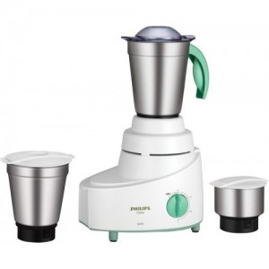Philips HL1606/03 500 W Mixer Grinder(Green, 3 Jars)