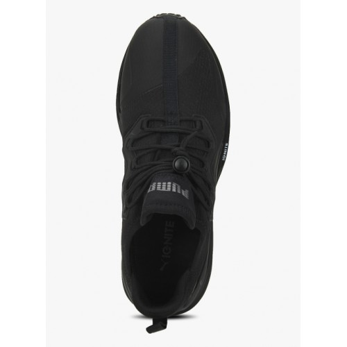 new product 35cd1 b8077 Buy Puma Ignite Limitless Initiate Black Running Shoes ...