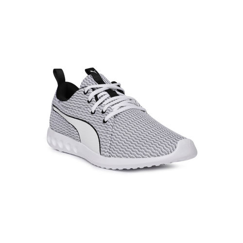 f3b5ccc147b1 Buy Puma Men White   Black Carson 2 New Core Running Shoes online ...
