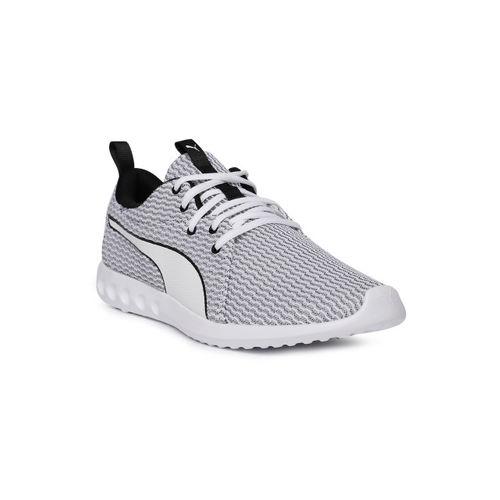 Buy Puma Men White   Black Carson 2 New Core Running Shoes online ... bb160f786
