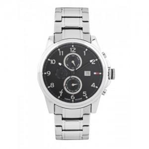 Tommy Hilfiger Men Black Dial Chronograph Watch TH1710296/D