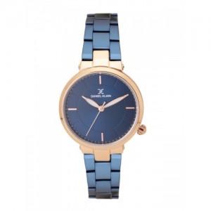 Daniel Klein Premium Women Navy Blue Analogue Watch DK11633-7_OR