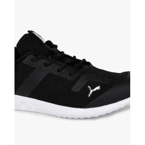 Puma Men Black Concave Concave IDP Walking Shoes
