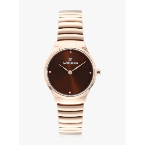 Daniel Klein Dk11681-5 Gold/Brown Analogue Watch