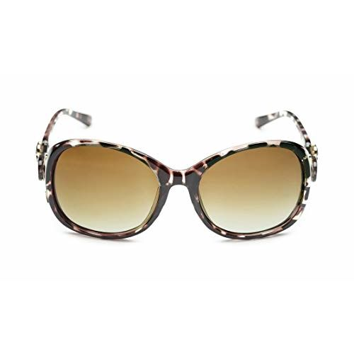 Get Glamr Butterfly Sunglasses(Brown)