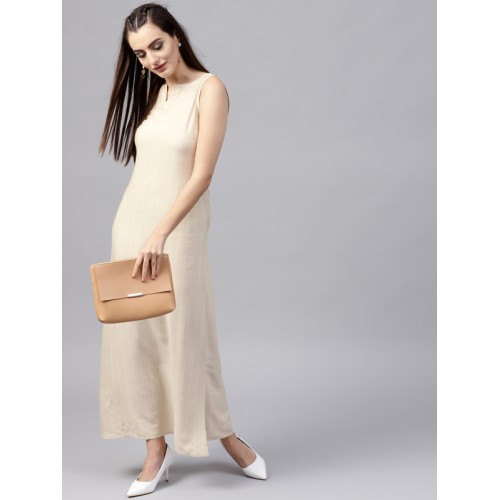 ab6c3070 Buy GERUA Beige Striped Shift Dress online   Looksgud.in