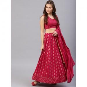 f5cfbaca20dee5 Buy latest Women's Lehengas from AKS On Myntra online in India - Top ...