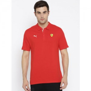 c74f9185ba54 Buy Royal Challengers Bangalore Solid Men's Polo Neck Red T-Shirt ...