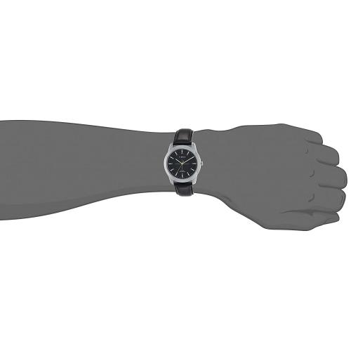 Timex TW00ZR263E Black Round Leather Analog Watch