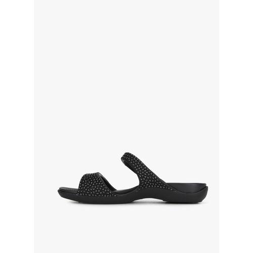 9d13dd6c557a Buy Cleo V Diamante Black Sandals online