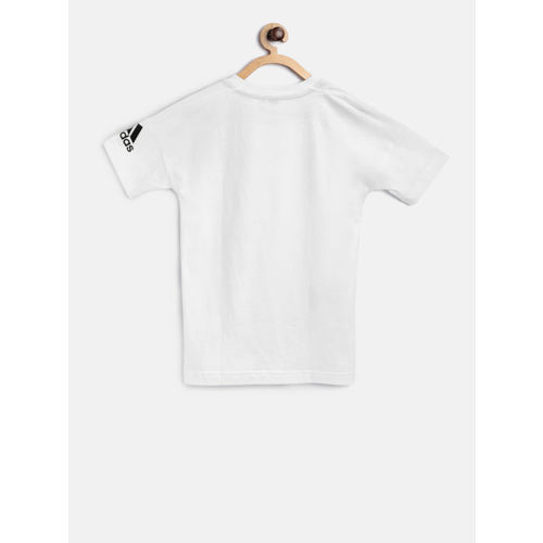 Adidas Boys White YB Z.N.E. Training T-shirt