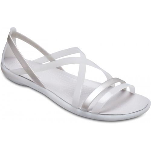 ffcb06b1f5b9 Buy Crocs Women Off white Flat Sandal online