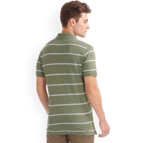 GAP Men Stretch Pique Single Stripe Tshirt