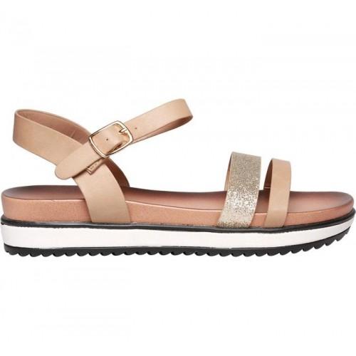 Buy Bata Women S Beige Sandals Online Looksgud In