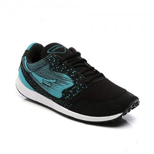 Unistar Men's Black Running Shoes