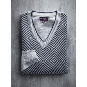 INVICTUS Grey Melange Sweater