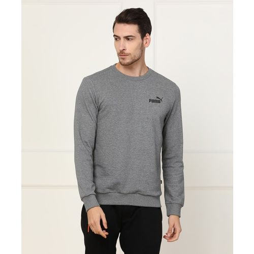 Puma Full Sleeve Self Design Men's Sweatshirt