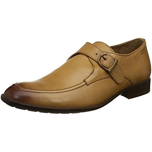 Tan Formal Monk strap Shoes online