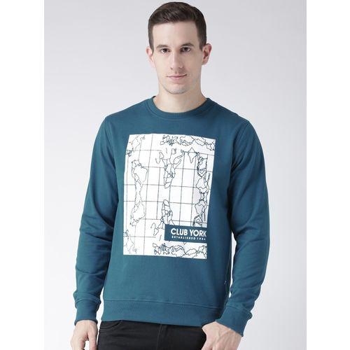 Club York Full Sleeve Graphic Print Men's Sweatshirt