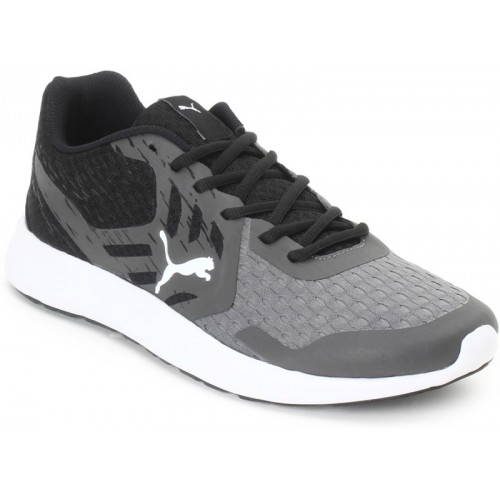 Puma Gamble XT IDP Walking Shoes For Men(Black, Grey)