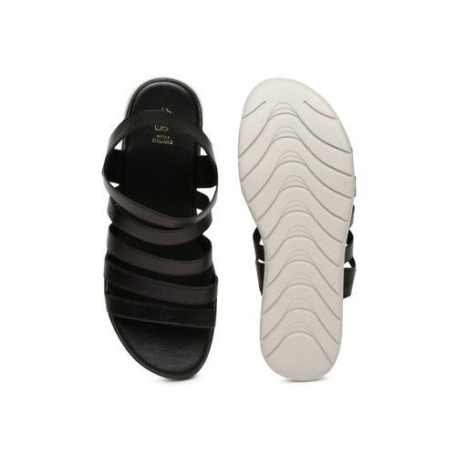 Tresmode Black Open Toe Sandals