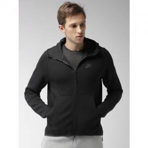 Nike Black AS M NSW TCH FLC HOODIE FZ Sweatshirt