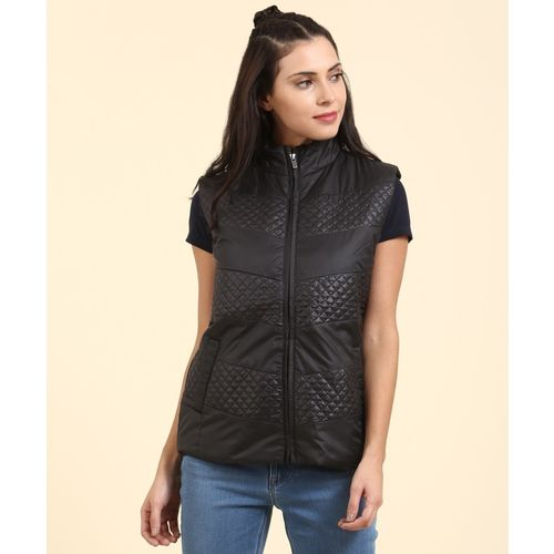 223e0a536a105d Buy Pepe Jeans Sleeveless Solid Women s Jacket online
