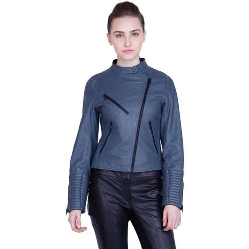Justanned Full Sleeve Solid Women Jacket