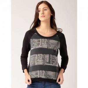Dressberry Full Sleeve Printed Women's Sweatshirt