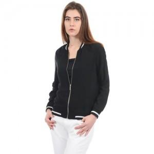 Pepe Jeans Full Sleeve Solid Women Sweatshirt