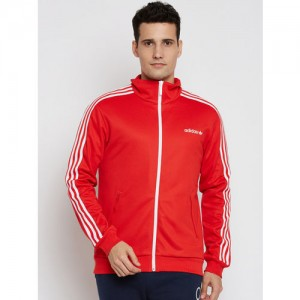b820adb32d Adidas Originals Men Red BB Solid Track Jacket